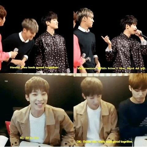 Even the members ship them together fml