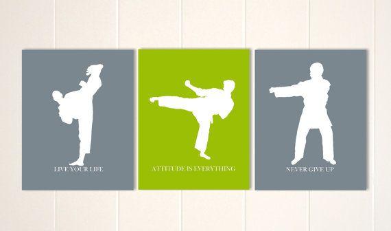 Ninja silhouette Ninja martial artist decal,fathead style sticker decal karate