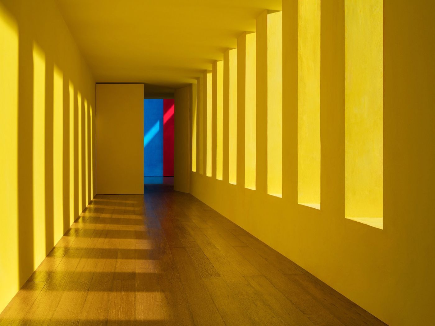 Luis Barragán's iconic architecture recreated in evocative photography exhibit