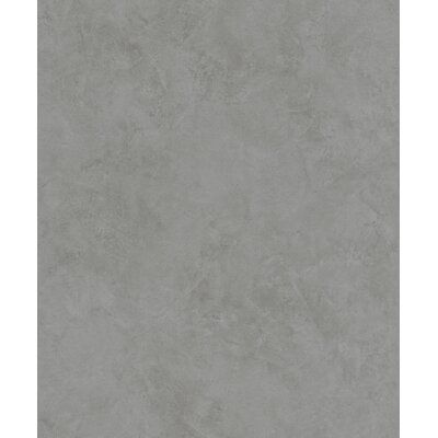 Latitude Run® Add a touch of golden glamour to your home with this faux plaster wallpaper. Rich golden hues are marbled into a metallic medley, subtle brushes of raised inks mimicking the hand-applied look of plaster. Escher is an unpasted, vinyl on nonwoven wallpaper. Color: Gray