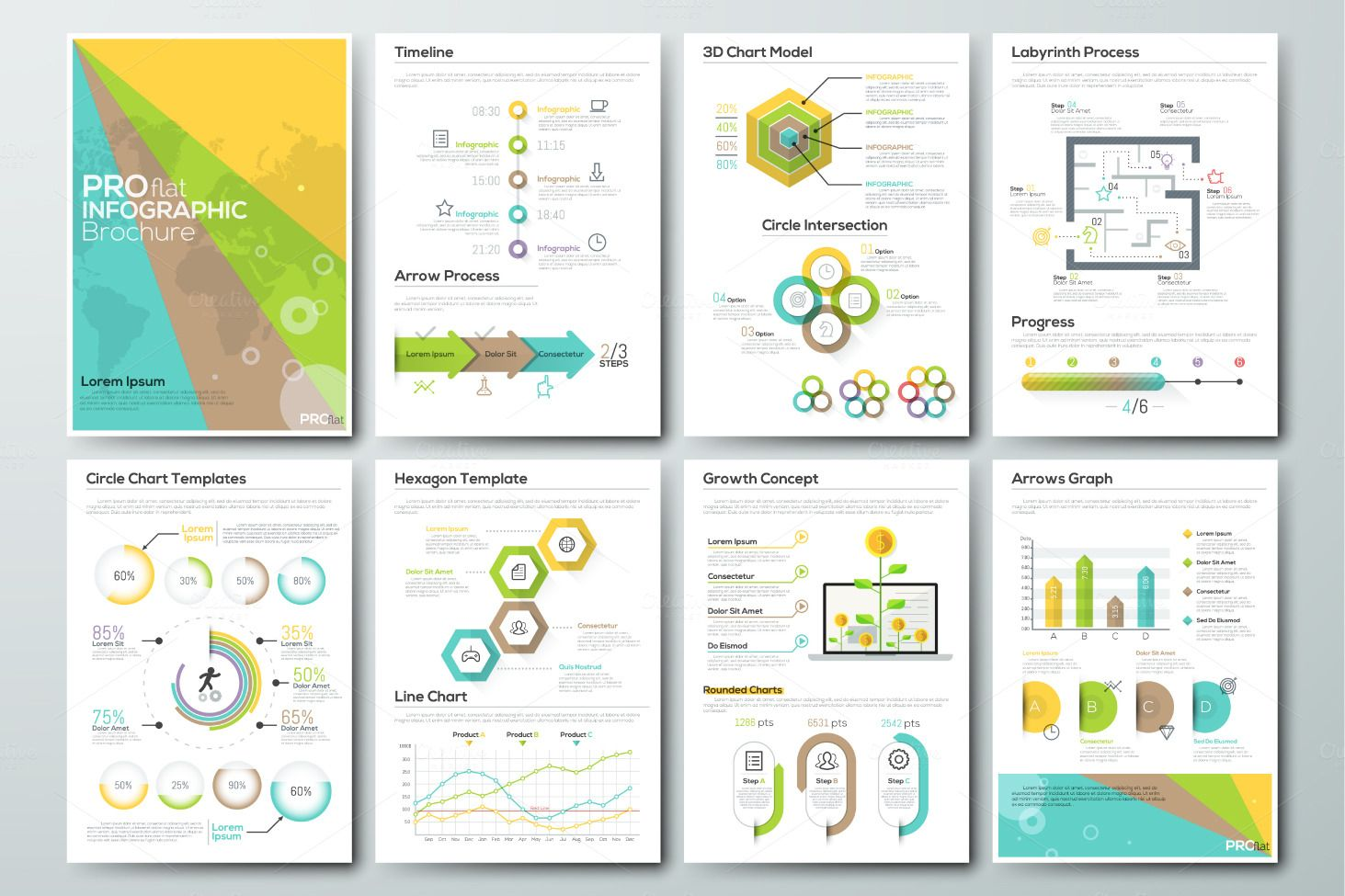 Types Of Headaches Infographics Design Template Icon Manual Guide