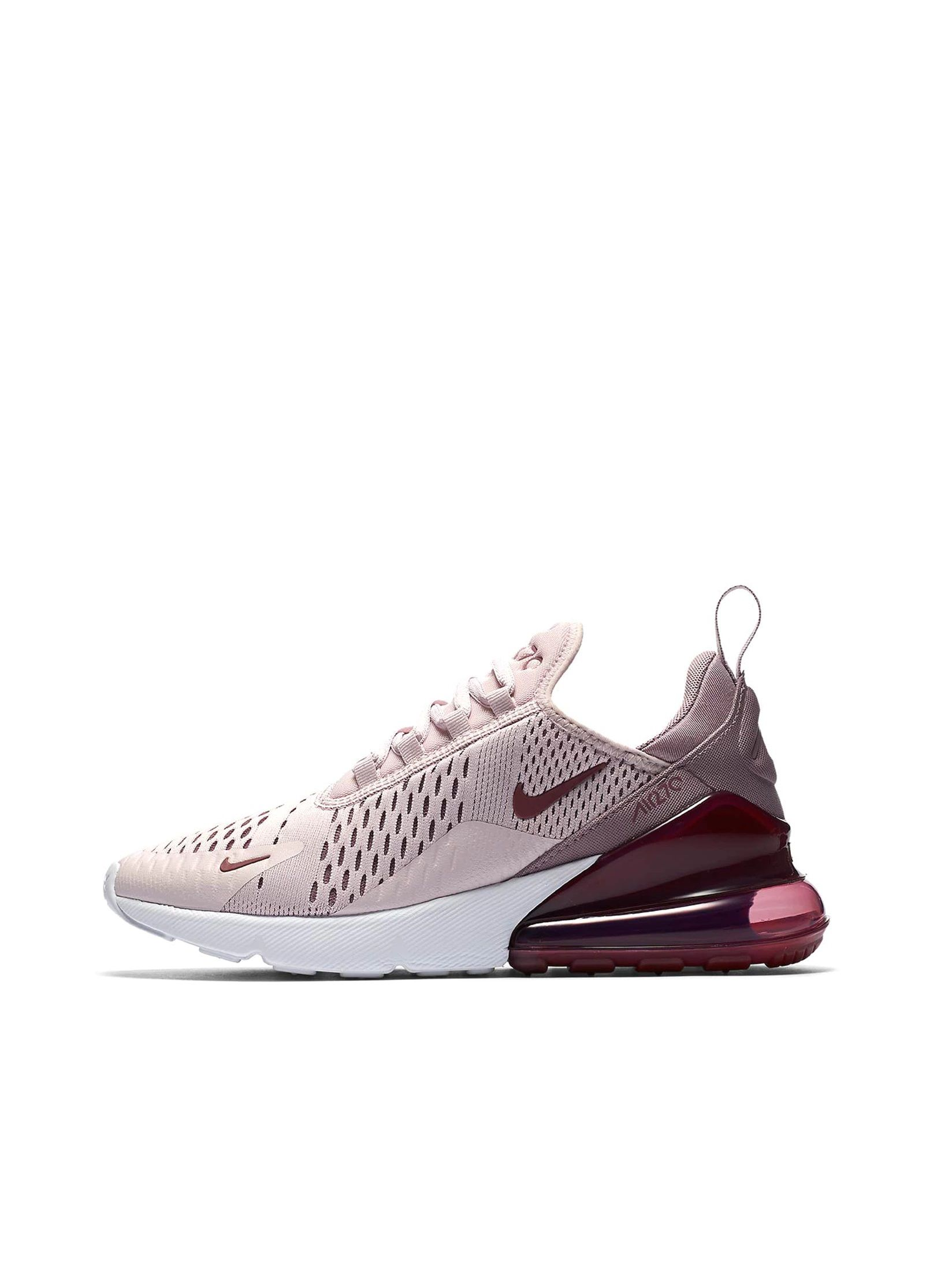 Nike Air Max 270: Barely Rose | Zapatos nike, Calzado nike ...