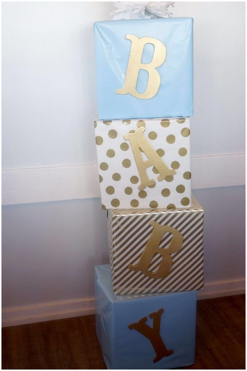 Beautiful Baby Shower Decorations In A Box Diy Baby Shower