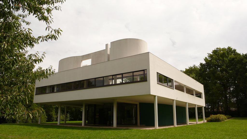 villa Savoye - Le Corbusier L1270165   Flickr - Photo Sharing!