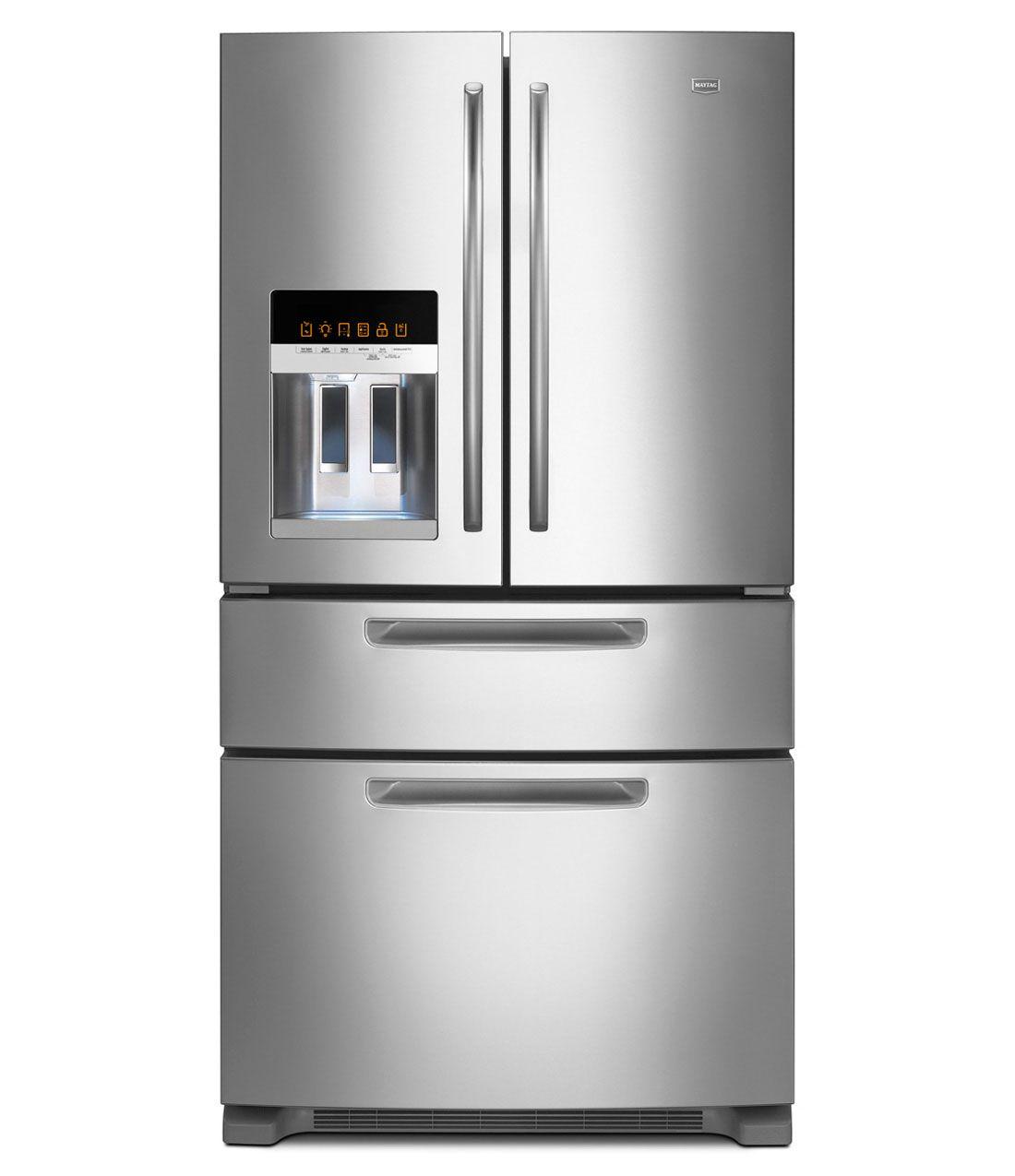 REFRIGERATORS +FRENCH DOORS+BOTTOM FREEZER | Ice2O-Maytag-Refrigerator-French Doors-Bottom Freezer