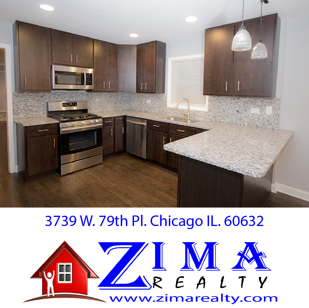 3739 W. 79th Pl. Chicago, IL. 60652 Gorgeous Kitchens. Properties For-Sale in Chicago