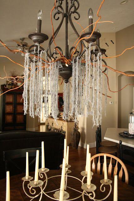 Nob hill creepy chandelier halloween pinterest creepy nob hill creepy chandelier mozeypictures Choice Image