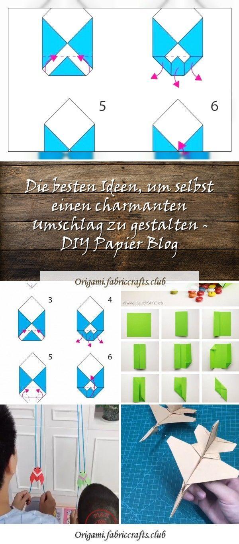 Die besten Ideen, um selbst einen charmanten Umschlag zu gestalten – DIY Papier …