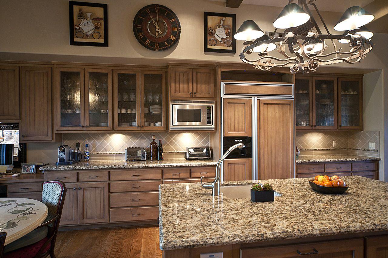 Gourmet kitchen in dc ranch kitchens pinterest ranch kitchens