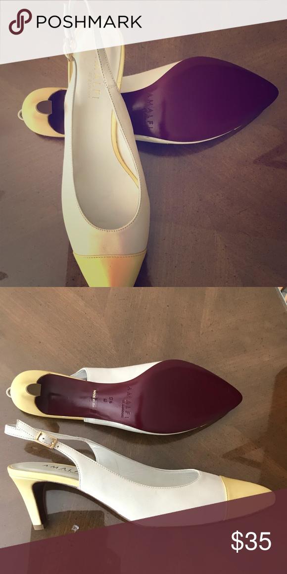 "48bdcbf374 Short heel shoes women Brand new no tag Sling back heel 2.5"" heels amalfi  by rangoni Shoes Heels"