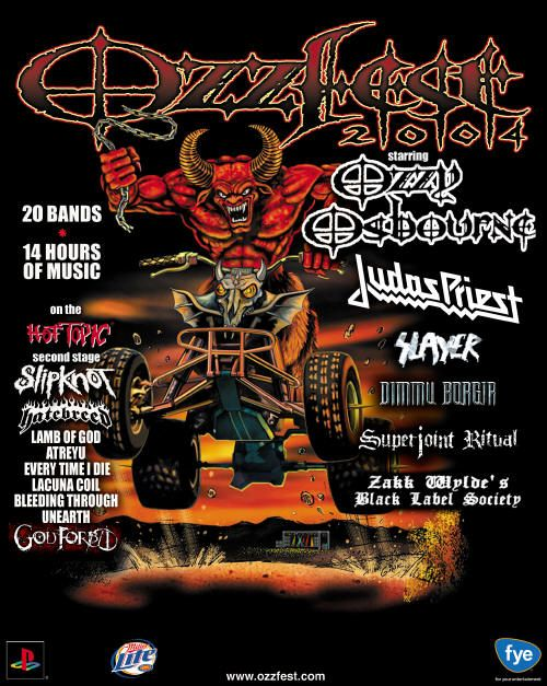 Ozzfest 2004 favorite one by far | great day of music  I