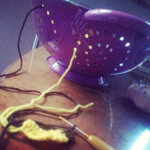 juntos pero no revueltos  #bramacrochet #wip #yarn #amigurumi #crochet #kawaii #handmade #diy #あみぐるみ #idea #ponunescurridorentuvida #violasempre