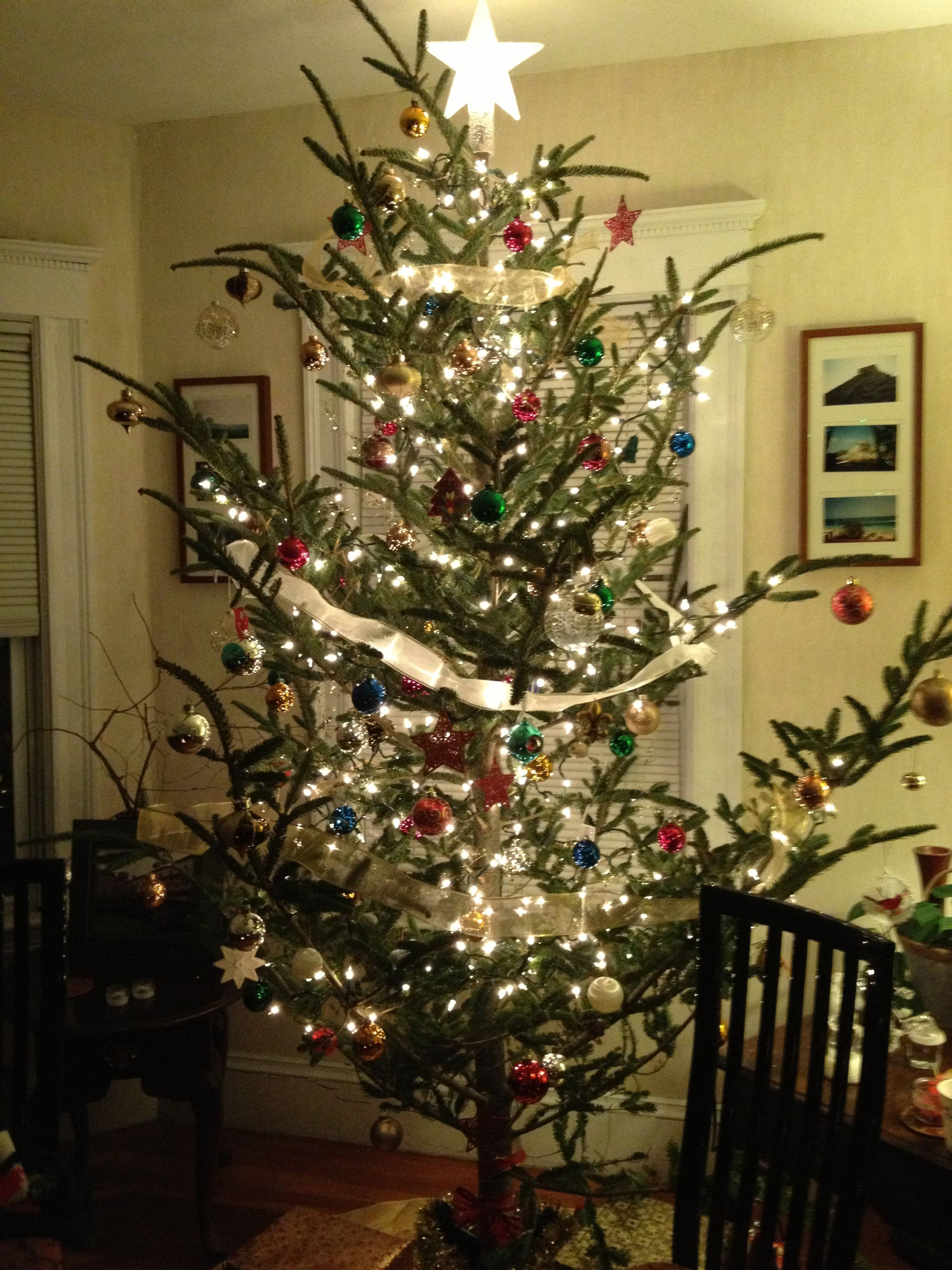 Old Fashioned Christmas Decorations old fashioned christmas tree | holiday decor | pinterest