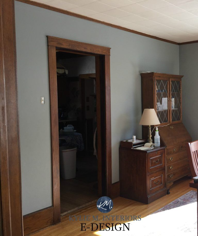 the 7 best neutral paint colours to update dark wood trim on best laundry room paint color ideas with wood trim id=64994