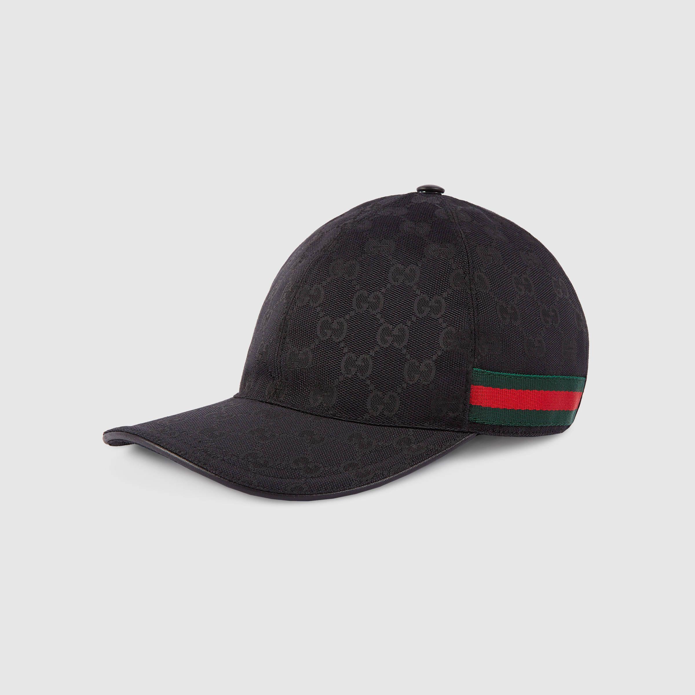 Gucci Original Gg Canvas Baseball Hat With Web Detail 2 Baseball Hats Mens Hats Baseball Hats For Men