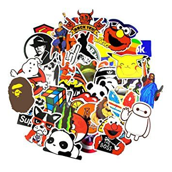 Sticker pack 150 pcs secret garden graffiti sticker decals vinyls for laptop