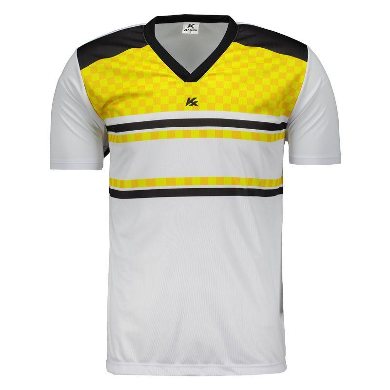 390b110410 Camisa Kanxa Pop Veti Branca e Amarela Somente na FutFanatics você compra  agora Camisa Kanxa Pop