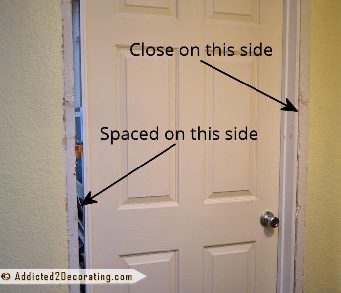 How To Install A Prehung Door Tips From A Novice Replacing Interior Doors Interior Door Installation Prehung Interior Doors