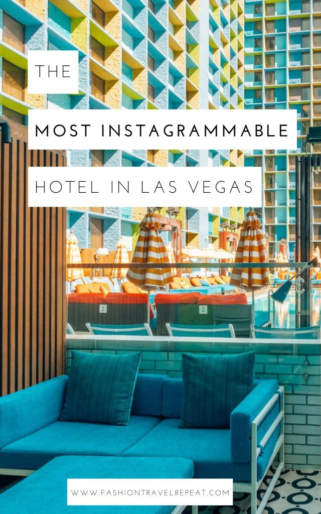 The Most Instagrammable Hotel In Las Vegas