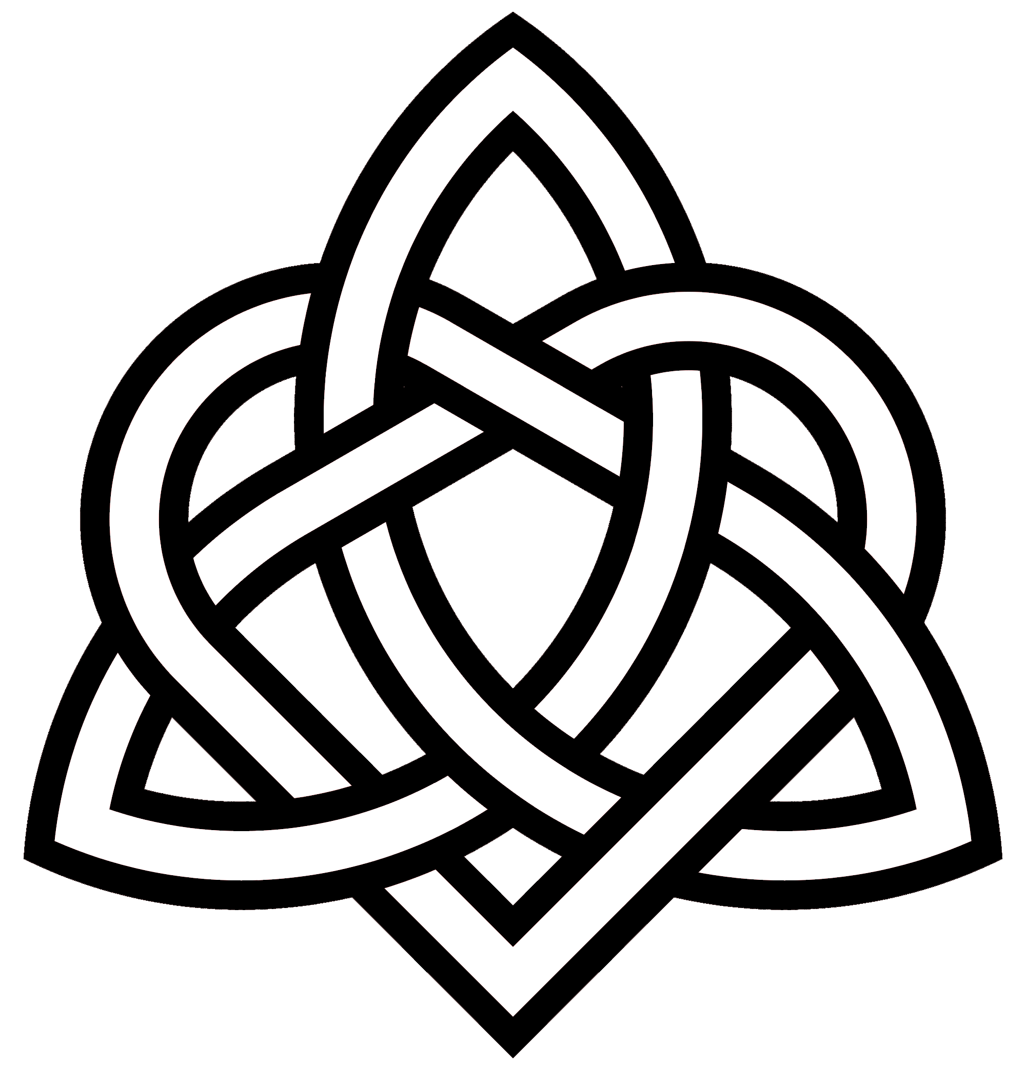 Triquetra Heart Variant Celtic Symbol For Sister Sister Symbol Tattoos Knot Tattoo