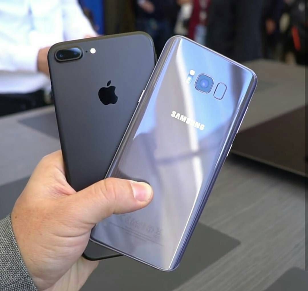 iphone 7 plus vs galaxy s8 plus