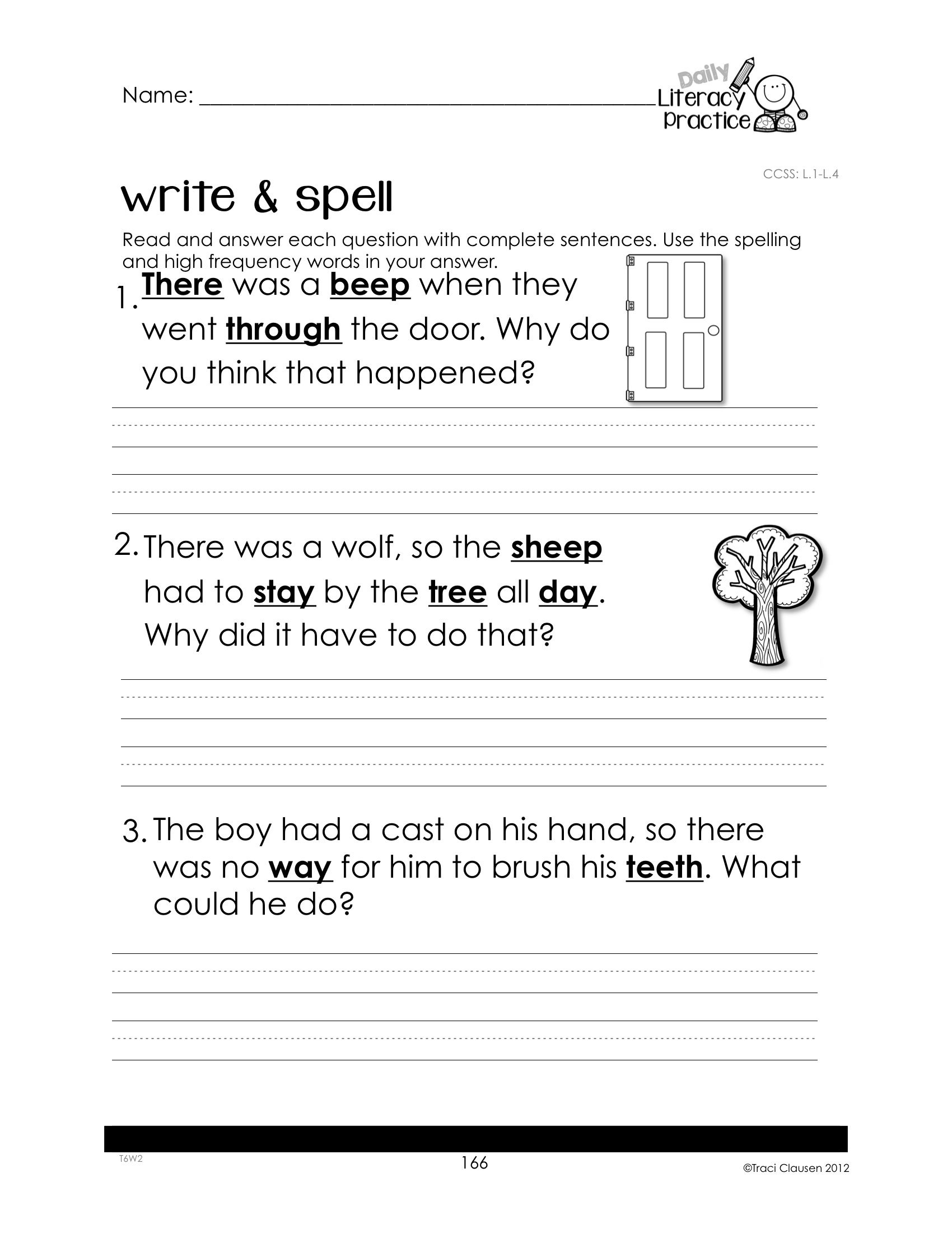 Reading Writing And Phonics Activities