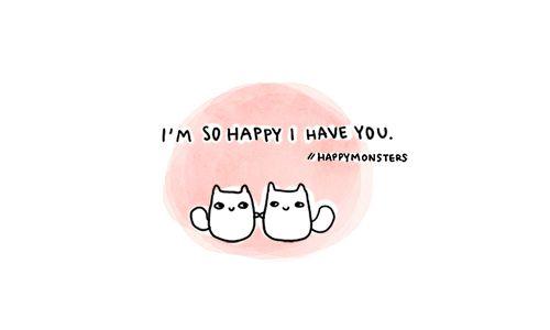 happy monsters.