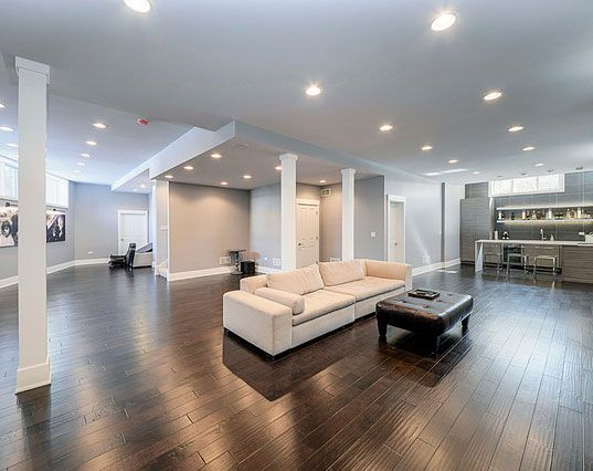 45 Amazing Luxury Finished Basement Ideas Design