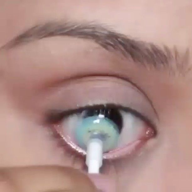 @videosfashions Freshtone Super Naturals Contact Lenses in Aqua Blue Visit @Boulonguise And G