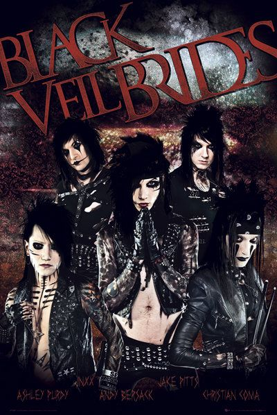 Pin En Black Veil Brides