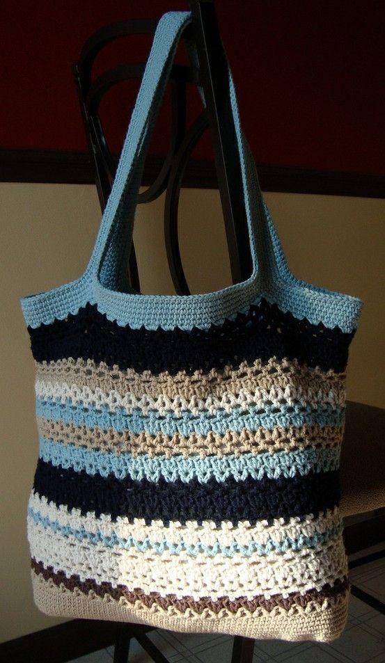 free pattern | nergiz | Pinterest | Bolsos, Tejido y Bolsos en crochet