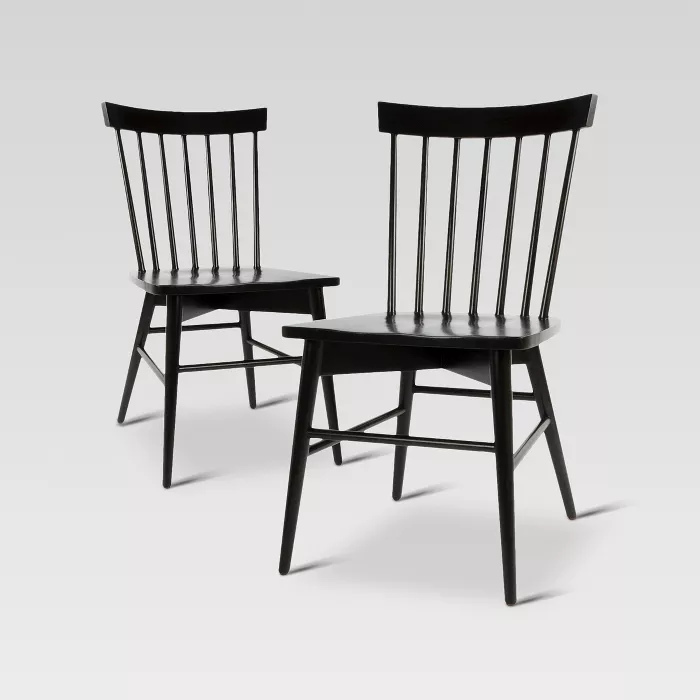 Set Of 2 Windsor Dining Chair Threshold Target 179 99 In