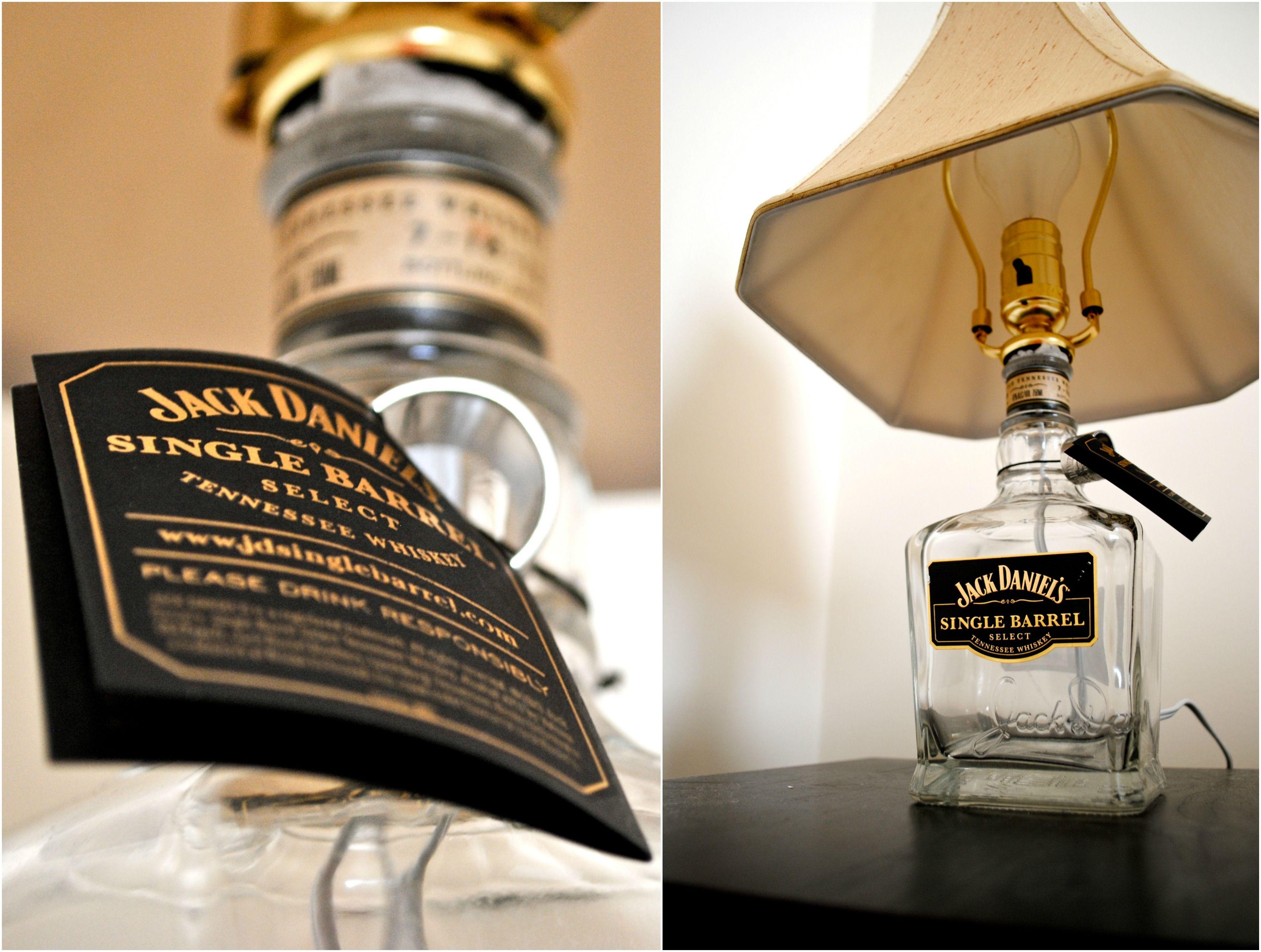 Jack Daniels Single Barrel Lamp