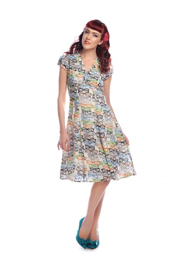 c11bed4572bd Love ur Look Clothing and Vintage » Glasses 40s Tea Dress | Fashion ...