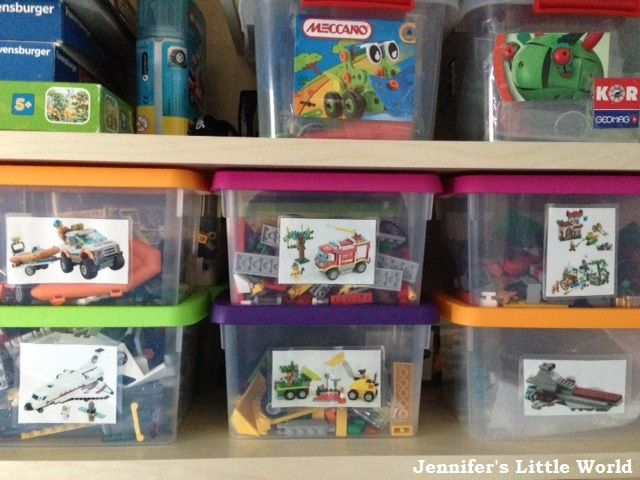 High Quality Our Evolving Lego Storage System