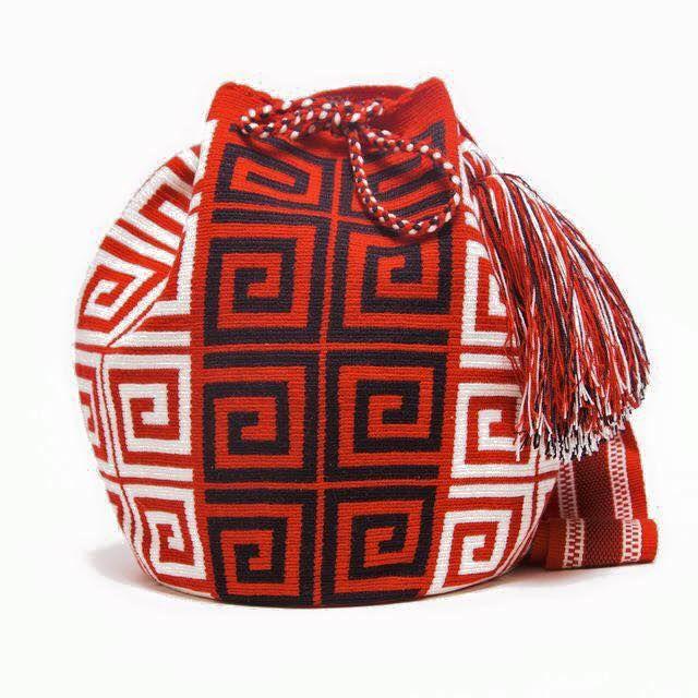 Mochila Wayuu pattern | mochilas 2 | Pinterest | Mochilas wayuu ...