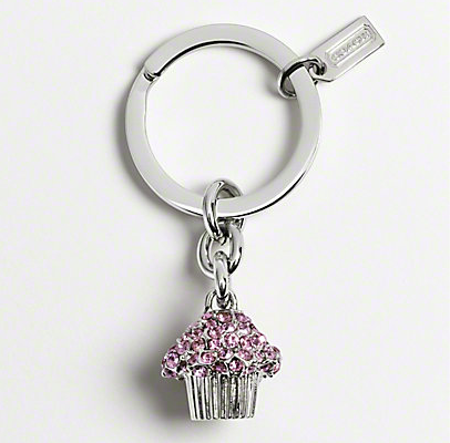Silver Metal Dangle Pendant Car Key Chain Holder Ring Purse Bag Charm Accessory