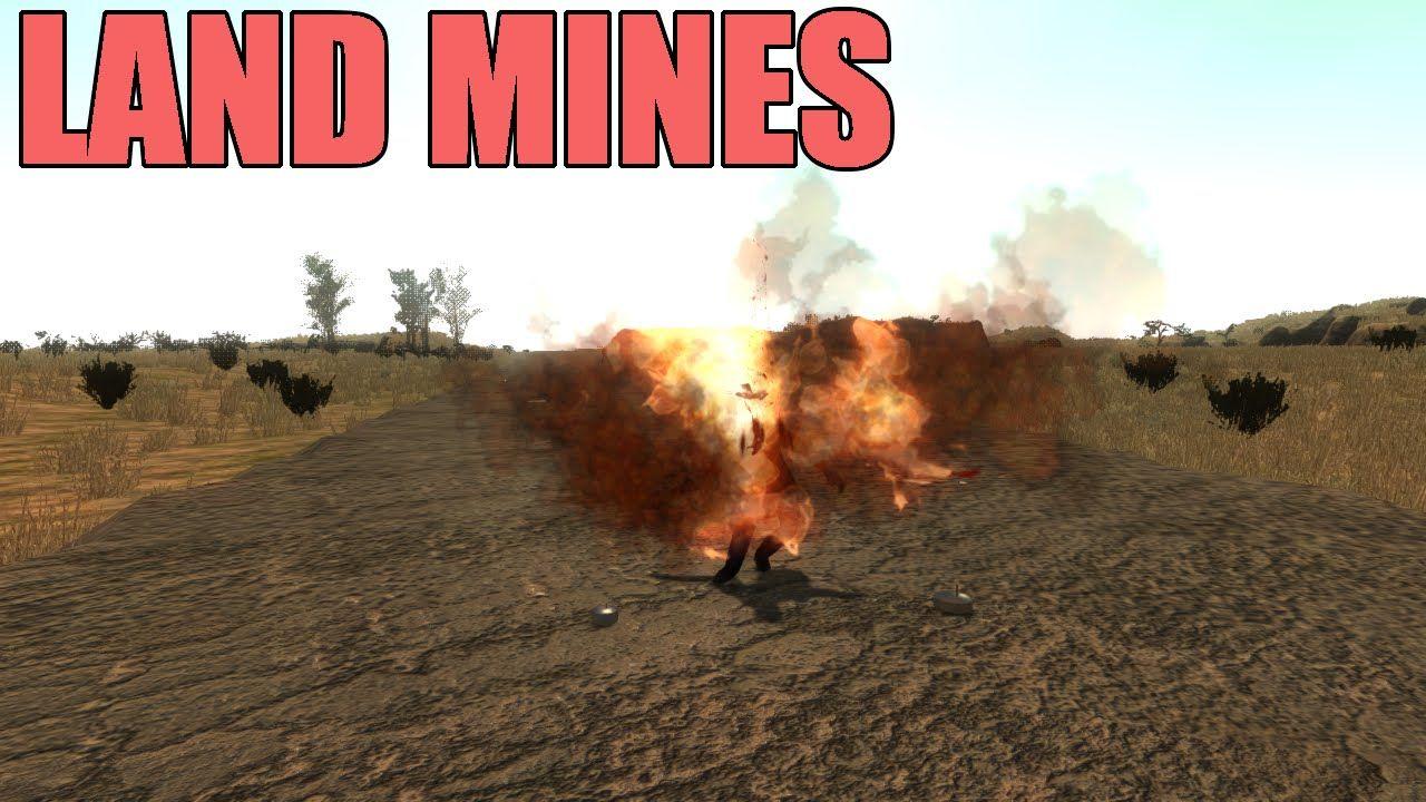 7 Days To Die Tutorial Land Mines 7 Days To Die Land Mine Day