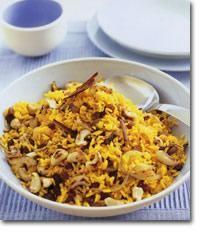 Hinduski ryż z przyprawami