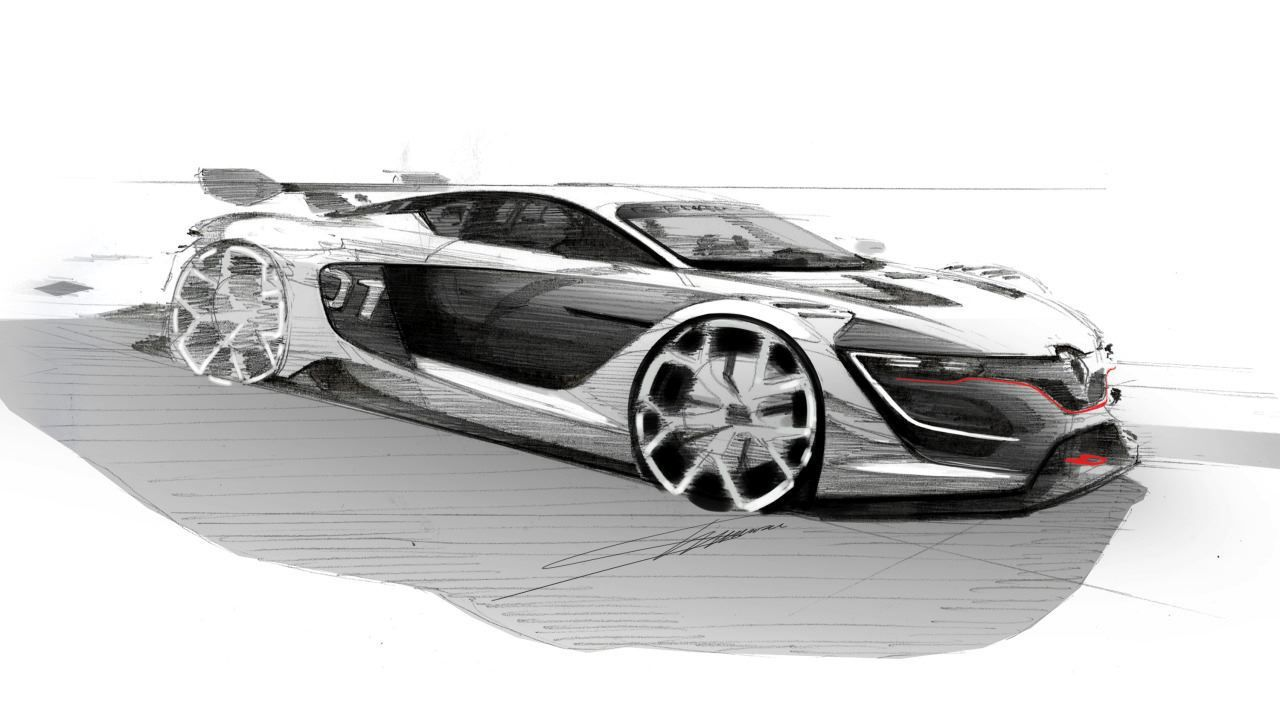 Superb Renault Sport R.S. 01 Sketch · Car Design ...