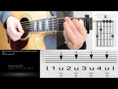 Milky Chance - Stolen Dance / Lyrics / Chords / Guitar Lesson ...