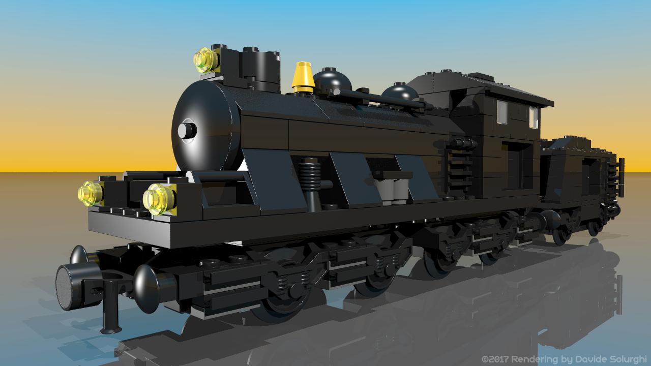 Lego 10205: Large Train Engine W/Tender
