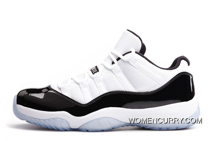 541d8c4385 www.womencurry.co... NEW AIR JORDAN 11 RETRO LOW WHITE BLACK-CONCORD ...
