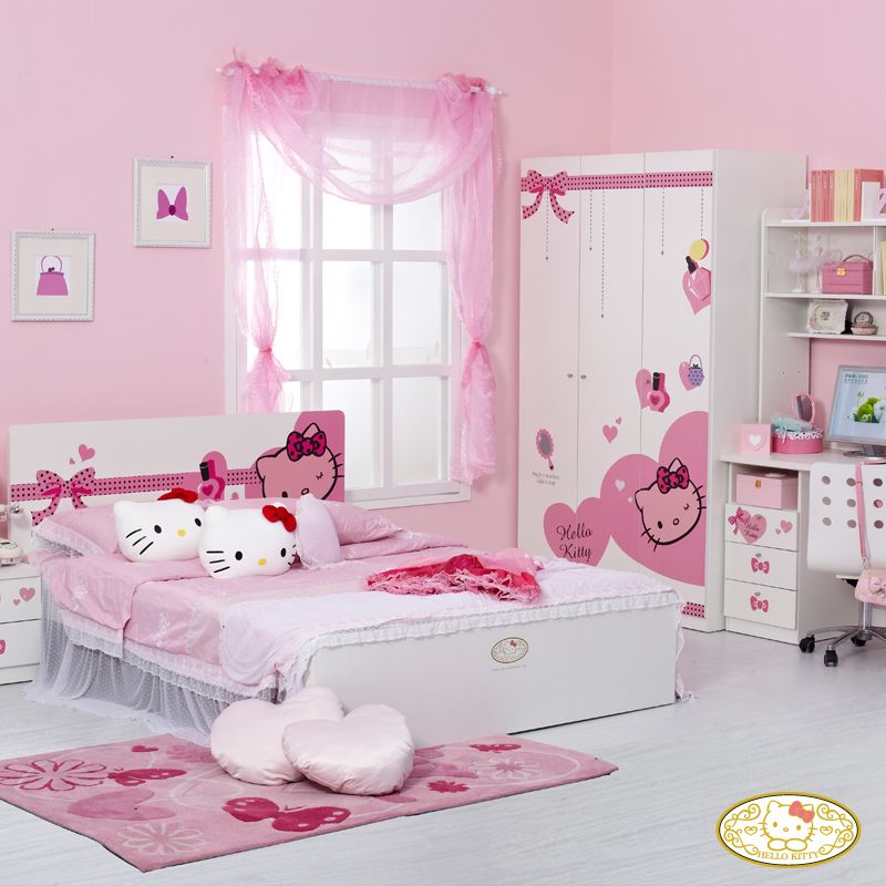 Attirant Hello Kitty Bedroom Decoration For Your Little Princess, Lovely Design !!