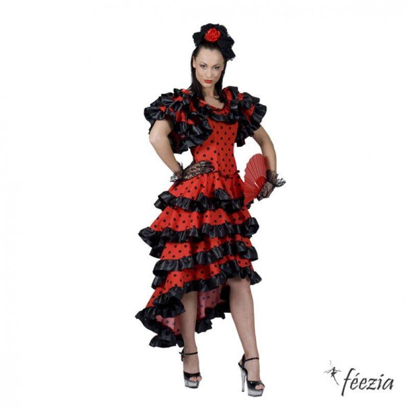 Robe flamenco fille 10 ans