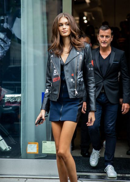 Your One-Stop Destination for NYFW 2018 Street Style -  STYLECASTER | NYFW 2018 Street Style | Kaia Gerber  - #CelebrityStyle2018 #CelebrityStylemen #CelebrityStylenight #CelebrityStyleparty #destination #NYFW #OneStop #street #style