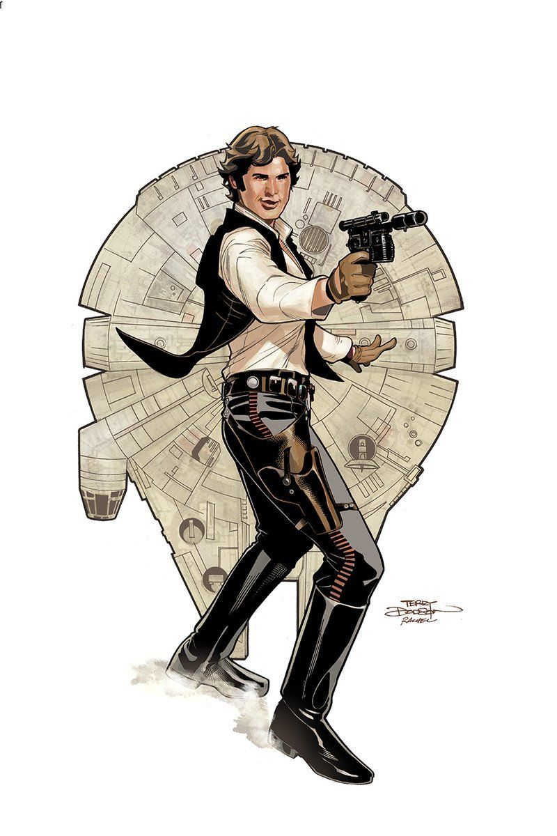 Star Wars Age of Rebellion Han Solo 1 by Terry and