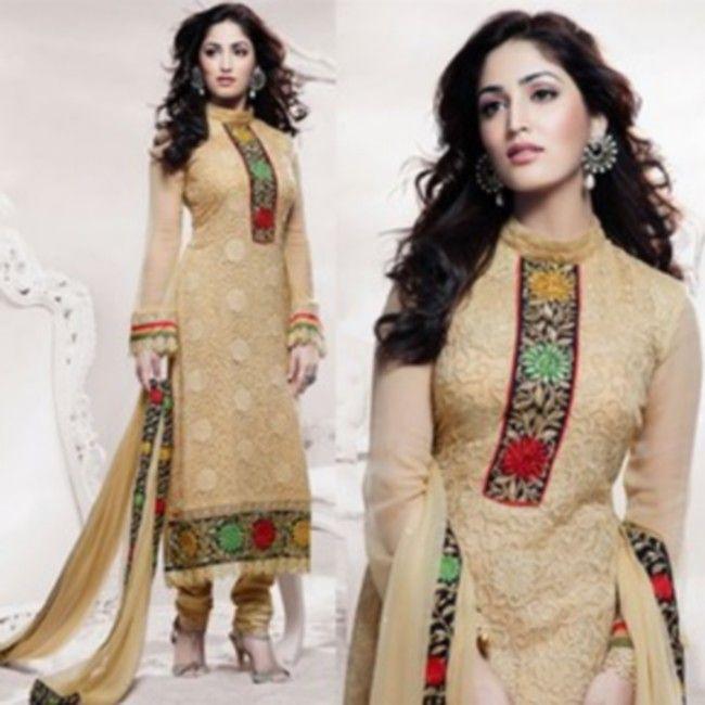 Stand Collar Neck Designs For Salwar Kameez : Latest salwar kameez neck designs back