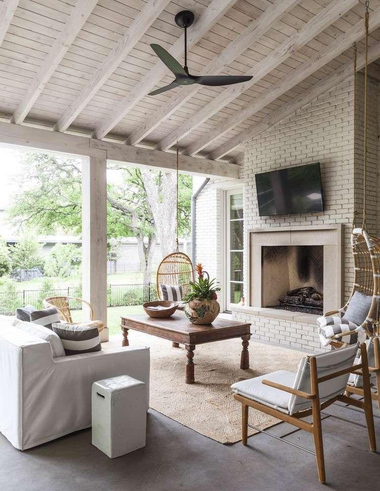 20 idées de tapis dextérieur réussir la déco du coin repas deco terrasseterrasse couverteterrassesidées