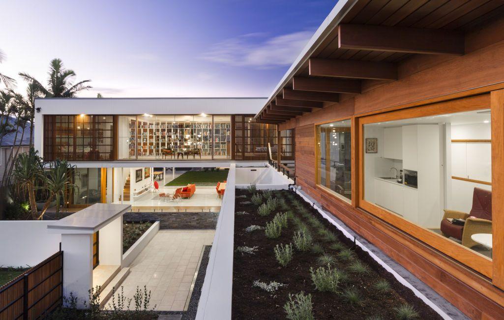 A piece of engineering genius dream house exterior